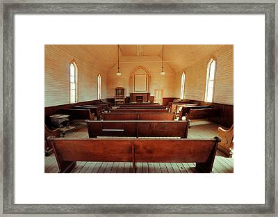 Praise Waiteth For Thee O God In Zion Framed Print by Nicholas Blackwell