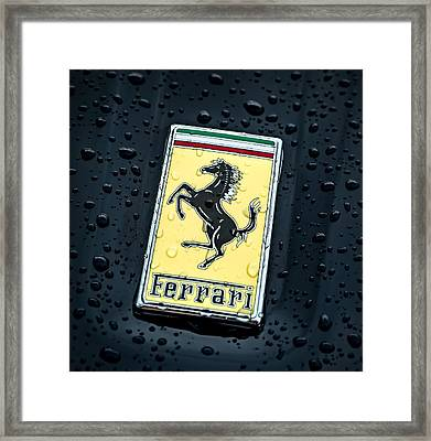 Framed Print featuring the digital art Prancing Stallion by Douglas Pittman