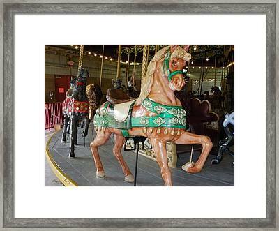 Prancing To The Music Framed Print