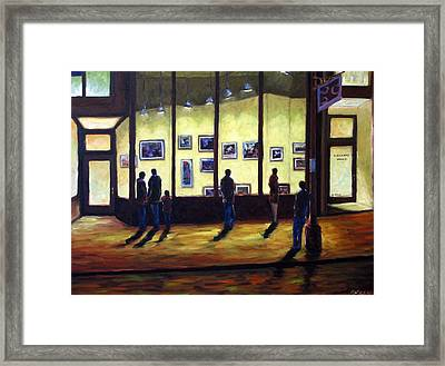 Pranke Framed Print by Richard T Pranke