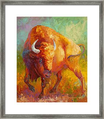 Prarie Gold Framed Print by Marion Rose