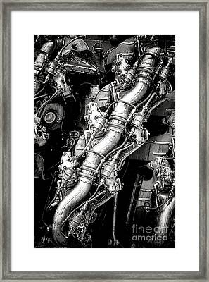 Pratt And Whitney Wasp Major  Framed Print by Olivier Le Queinec