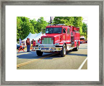 Prattsville Hose Co. 4 Framed Print by Lanjee Chee