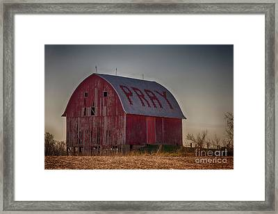 Pray Framed Print by JRP Photography