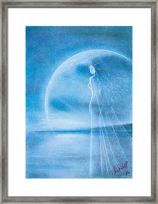 Prayer Framed Print by Chihiro Matsui
