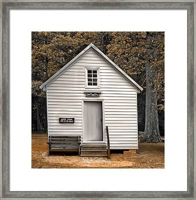 Prayer House Framed Print