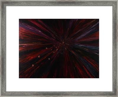 Prayer Of Anger Framed Print