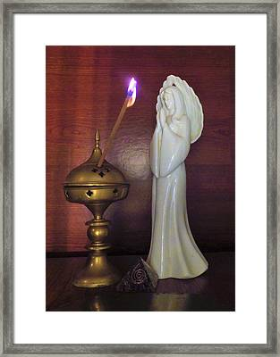 Framed Print featuring the photograph Prayer Petition by Denise Fulmer