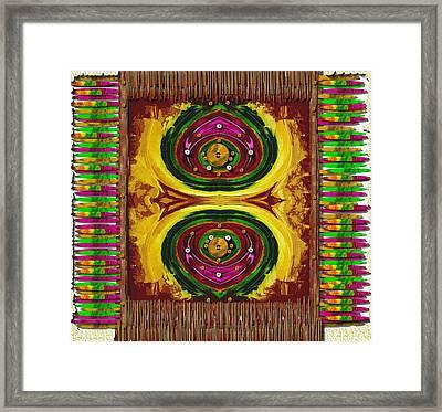Prayer Rug Framed Print