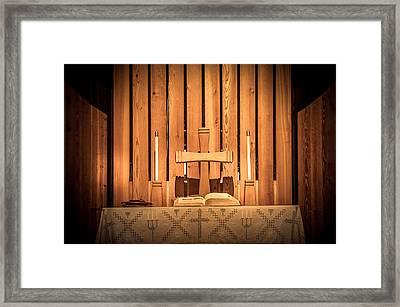 Prayer Time Framed Print
