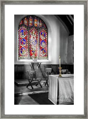Prayers And Hope Framed Print