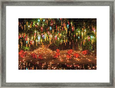 Framed Print featuring the photograph Prayers by Pradeep Raja Prints