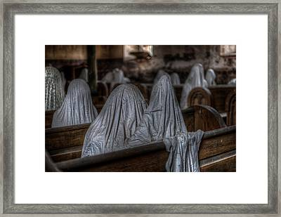 Praying For Peace Framed Print by Nathan Wright