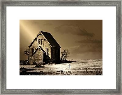 Praying For Rain 2 Framed Print