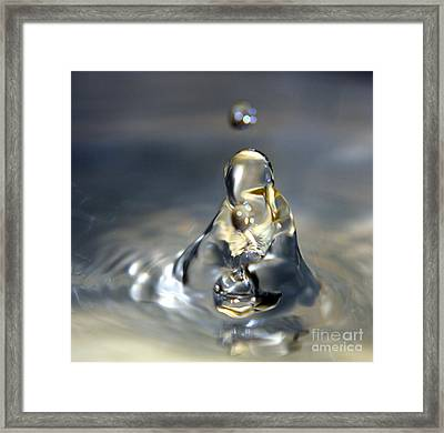 Praying For Water Framed Print