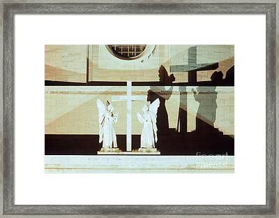 Praying Hands Framed Print