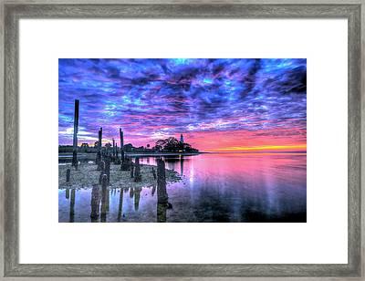 Pre Dawn At St. Marks #1 Framed Print