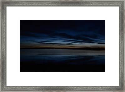 Pre-dawn's Glow Framed Print