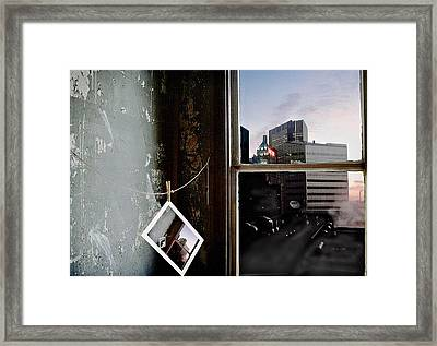 Framed Print featuring the photograph Pre-visualization by Peter J Sucy