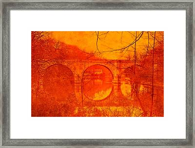 Prebends Bridge Durham City Framed Print