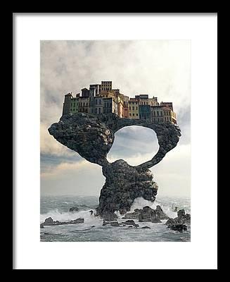 Decay Digital Art Framed Prints