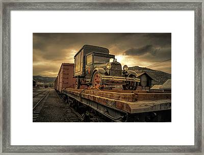 Framed Print featuring the photograph Precious Cargo by Steve Benefiel