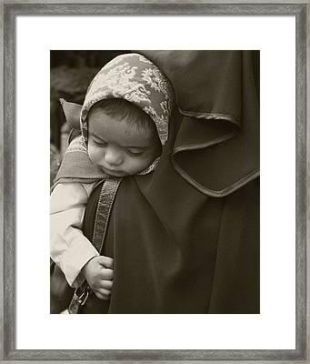 Precious Cargo Framed Print by Tia Anderson-Esguerra