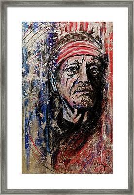Precious Metals, Willie Framed Print by Debi Starr