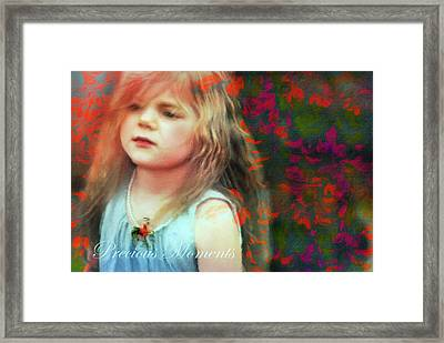 Precious Moments Of Innocence Framed Print