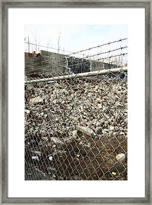 Precious Rubble Framed Print by Kreddible Trout