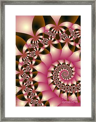 Precious Framed Print by Sandra Bauser Digital Art