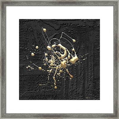 Precious Splashes - Set Of 4 Framed Print