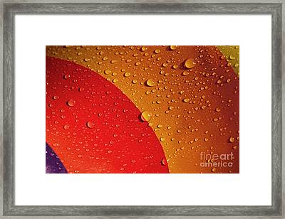 Precipitation Framed Print