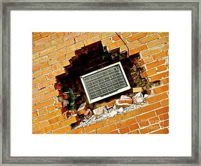 Precise Installation Framed Print by Chuck Taylor