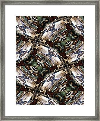 Predator And Prey Framed Print by Maria Watt