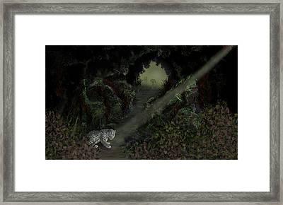 Predator Framed Print by Tony Rodriguez