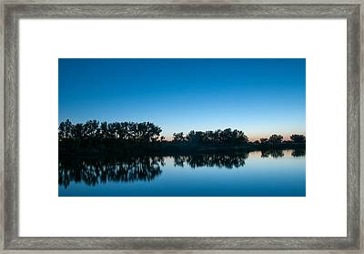 Framed Print featuring the photograph Predawn At Arapaho Bend by Monte Stevens