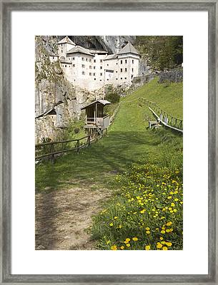 Predjama Castle Framed Print