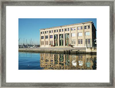 Prefecture Marin, Toulon Framed Print