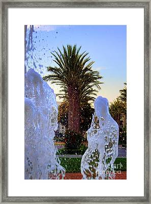 Framed Print featuring the photograph Pregnant Water Fairy by Mariola Bitner