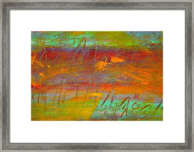 Prelude To A Sigh Framed Print