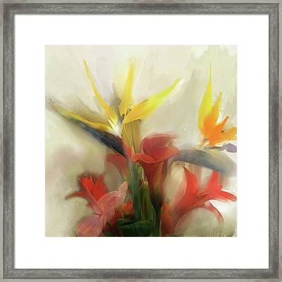 Prelude To Autumn Framed Print