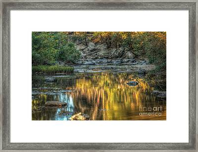 Prelude To Fall Framed Print by Larry McMahon