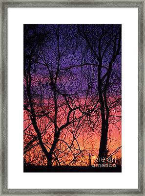 Prelude To The Cold Framed Print