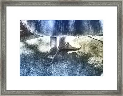 Prelude To The Dance Framed Print by Barry Monaco
