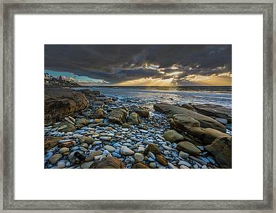 Prelude To The Storm Framed Print