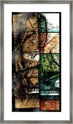 Preludio V Framed Print by Gary Bodnar