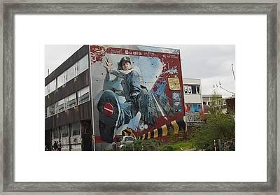 Premium Street Art Framed Print by Marco De Mooy