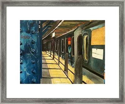 Premium Transportation Framed Print by Reggie Jackson