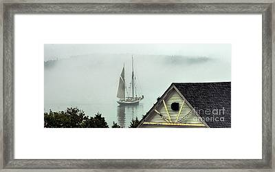 Preparing To Sail Framed Print by Christopher Mace